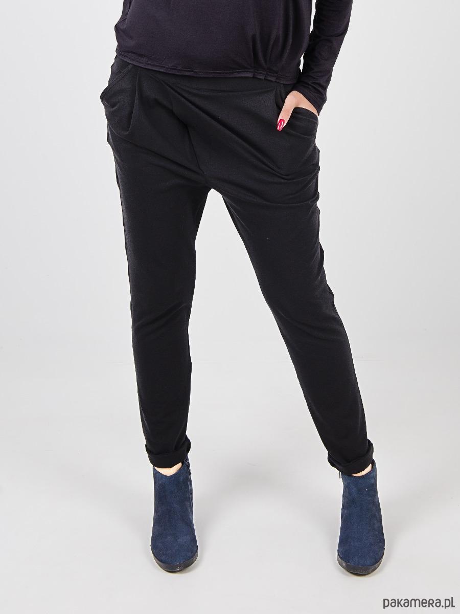 Spodnie damskie Mia Sport z bawełny