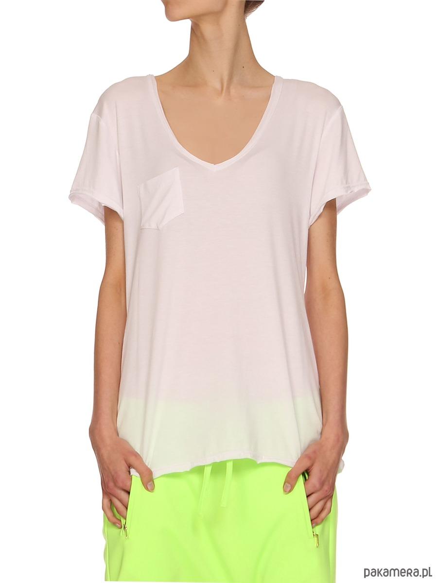 T-shirt biały YY500204_RAL9003