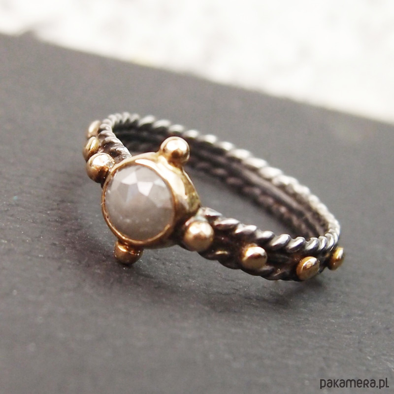 fa880cabe4ea0f shades of gray... różaniec z diamentem - pierścionki - różne ...