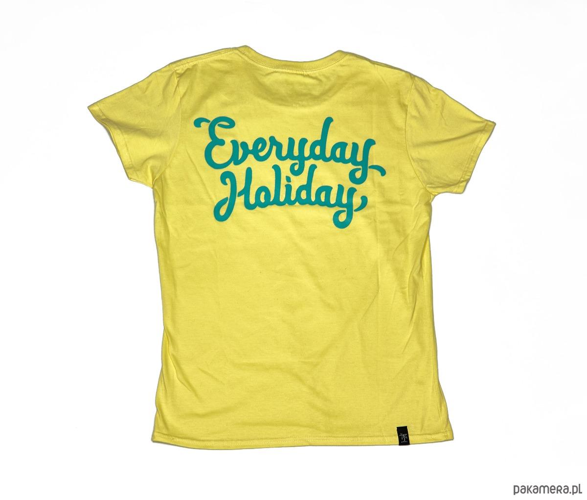 "Koszulka EVERYDAY HOLIDAY ""CORNSILLK MINT"