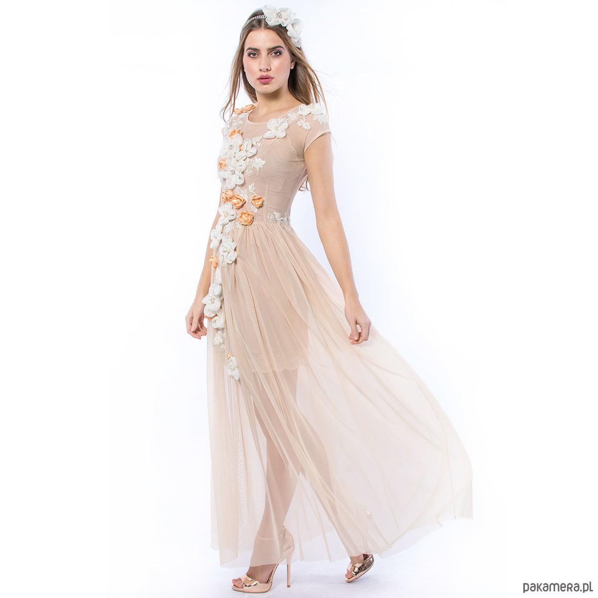 b1e9ac48 Królowa Bajka - ręcznie haftowana suknia ślubna - Pakamera.pl
