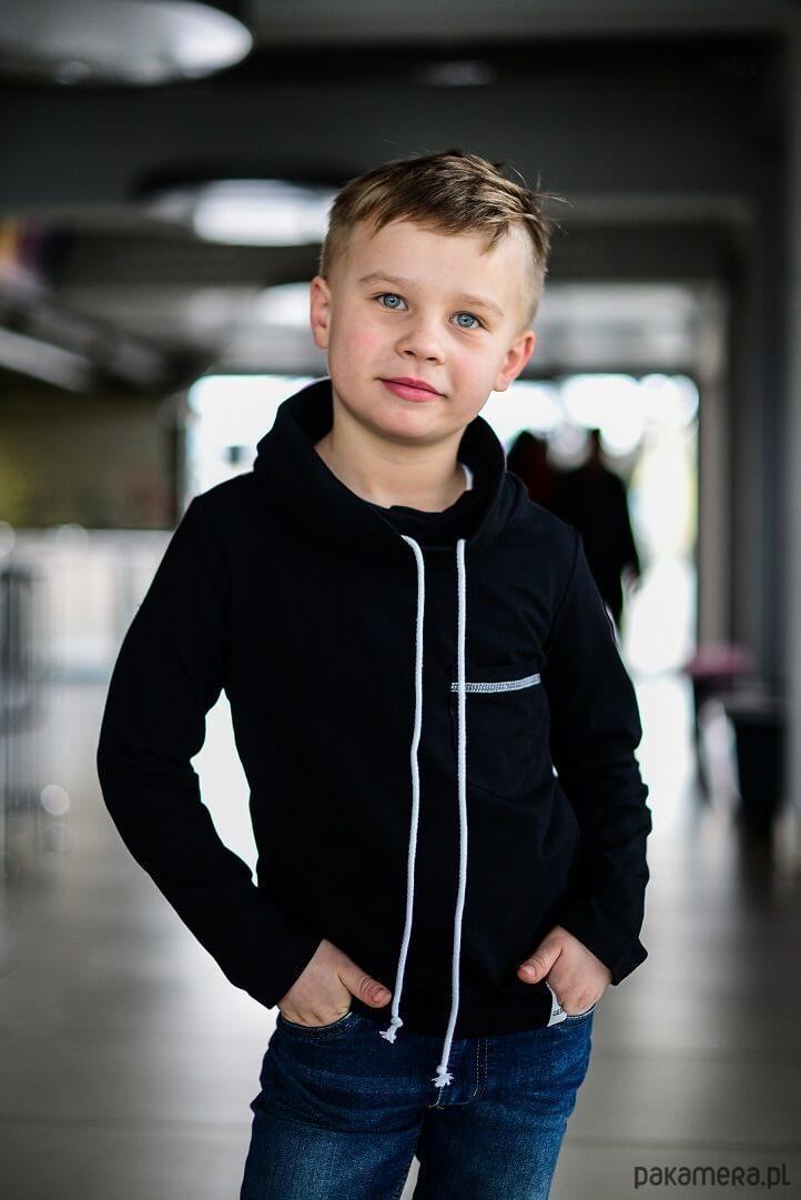 e3fe799e3e5bba Bluza Chłopięca Z Kominem czarna - chłopiec - bluzy - chłopiec ...