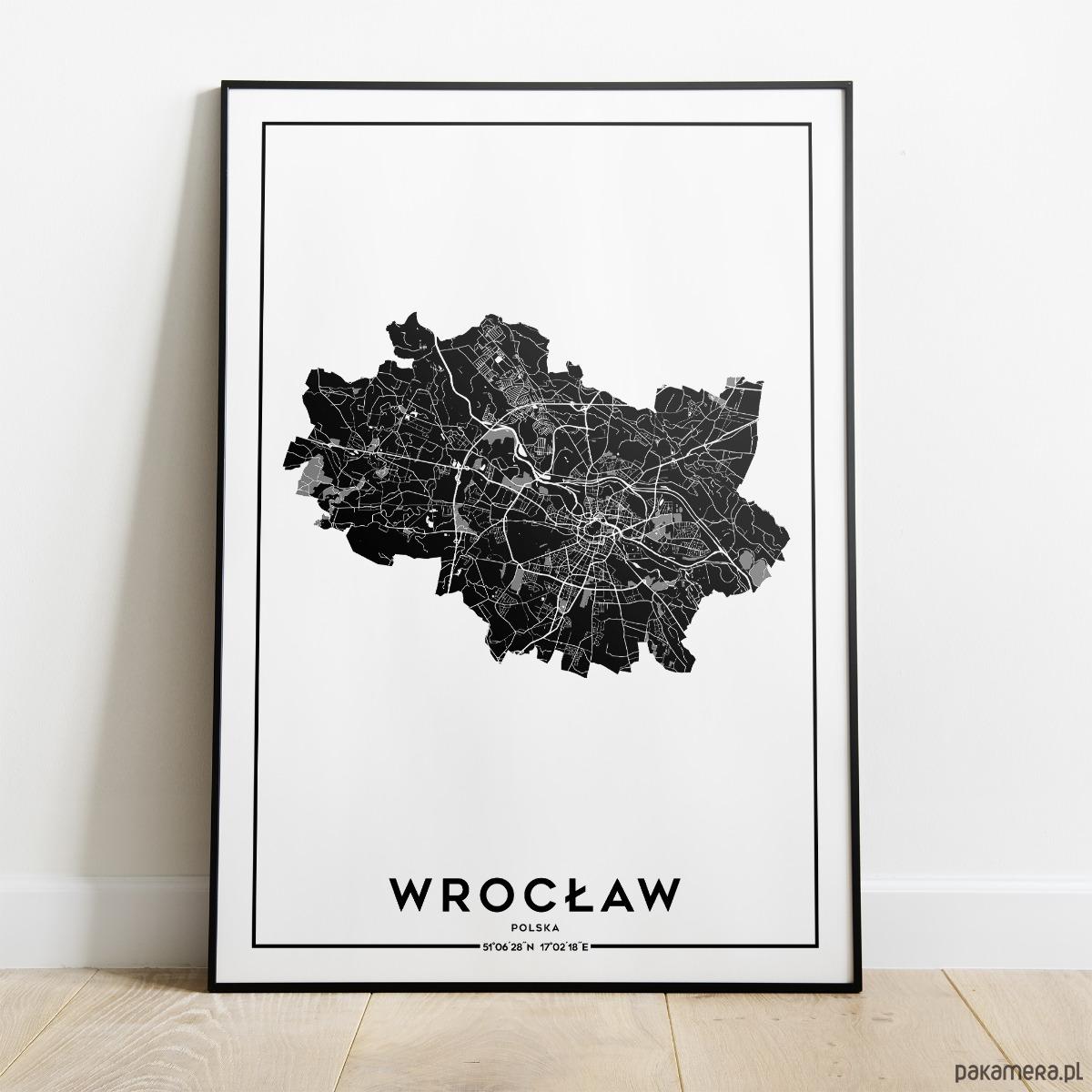 Plakat Miasto Wrocław Pakamerapl