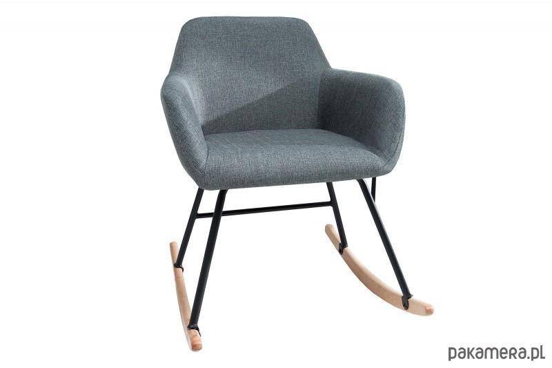 Fotel bujany Igloo szary buk 79cm - 2037476