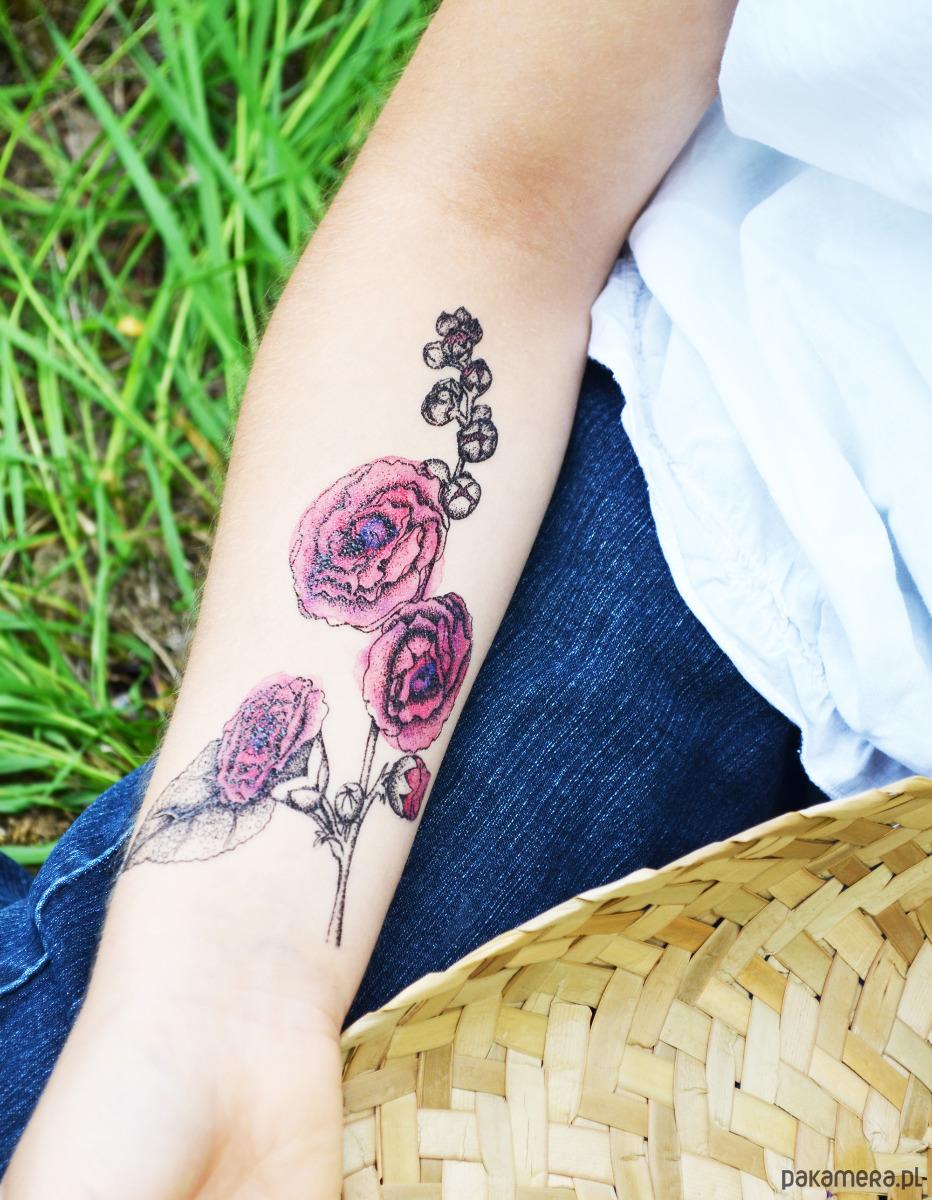 Malwa Tatuaż Tymczasowy Pakamerapl
