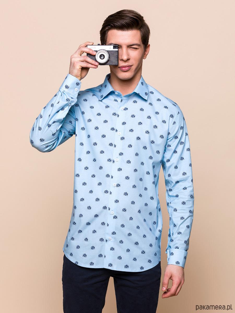Koszula męska Aparaty moda koszule Pakamera.pl  EEaHF