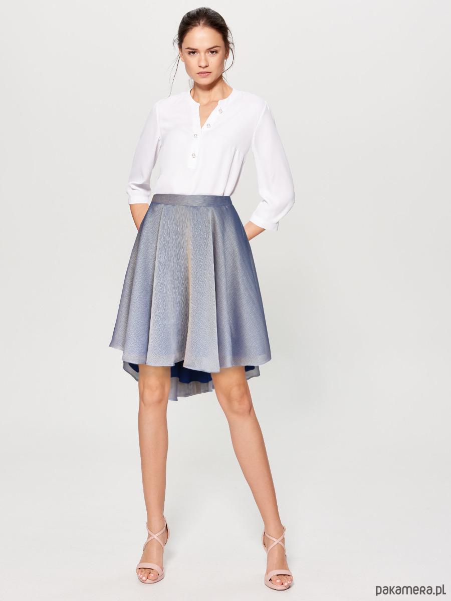 LILA - mieniąca się spódnica z koła