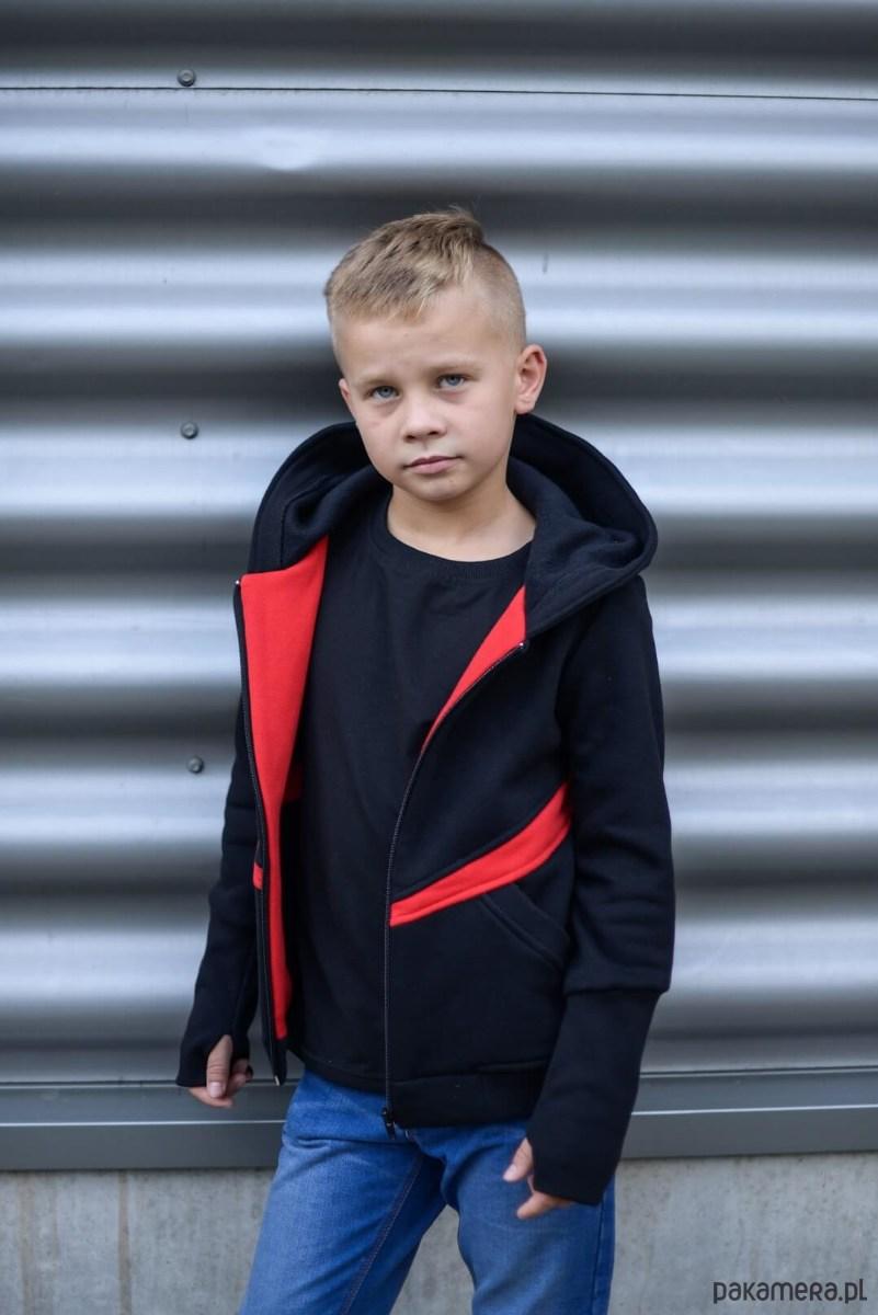 6ec37c6ac878d1 Bluza chłopięca Red czarna - chłopiec - bluzy - chłopiec - Pakamera.pl