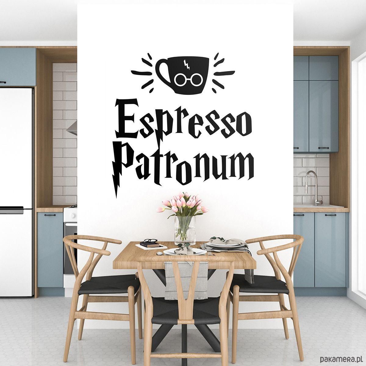 Naklejka Espresso Patronum Harry Potter Tapety Naklejki Scienne Pakamera Pl