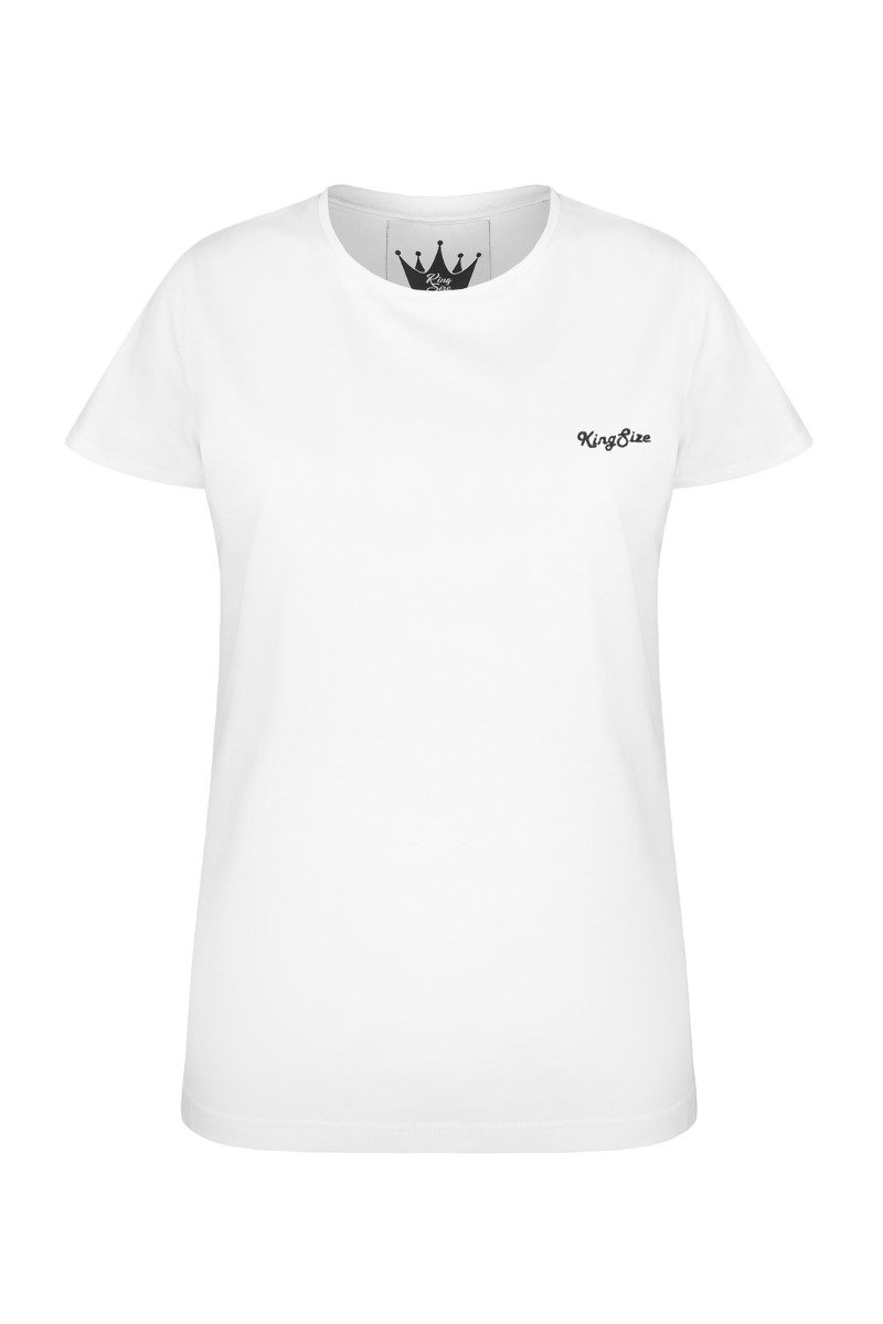 t-shirt KingSize white
