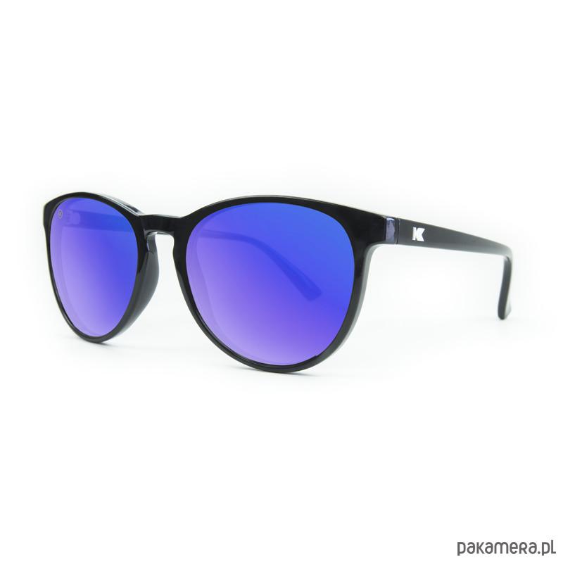 Okulary Mai Tais Czarne z Niebieską Soczewką okulary