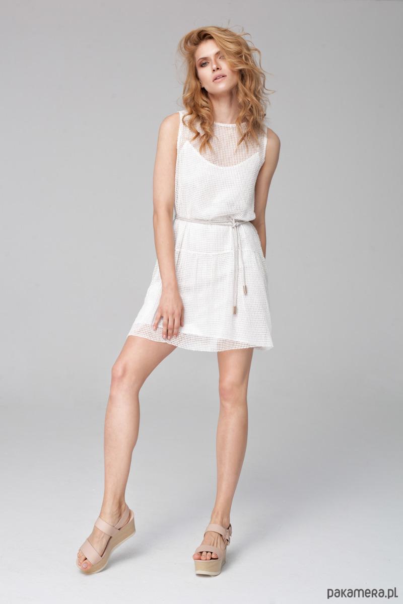 Sukienka z siatki