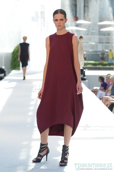 maroon bottle dress