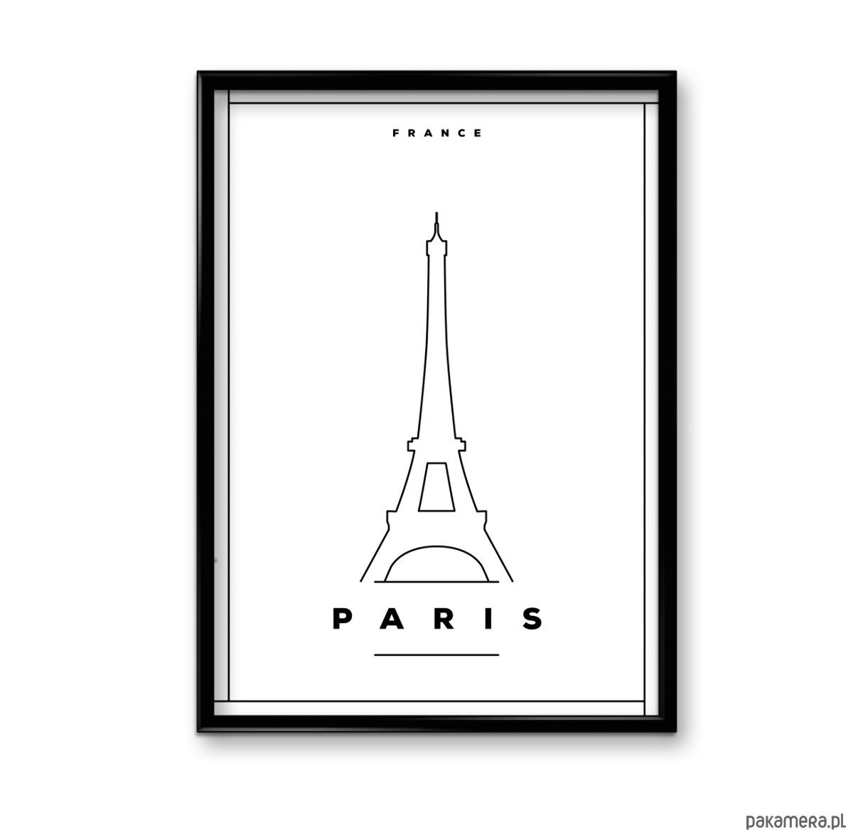 Paryż Plakat Pakamerapl