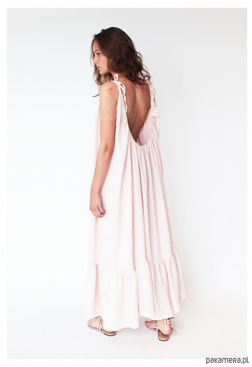 Sukienka z odkrytymi plecami ROSI