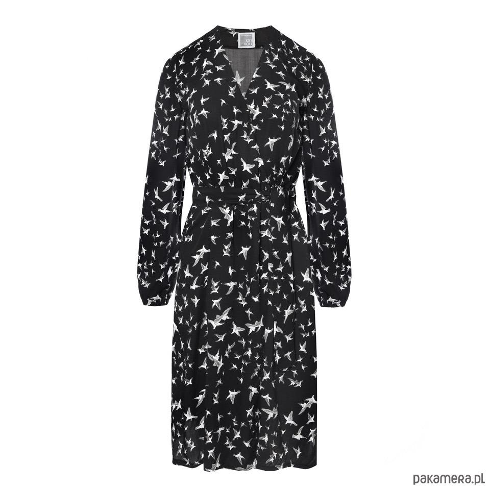 Sukienka kopertowa V