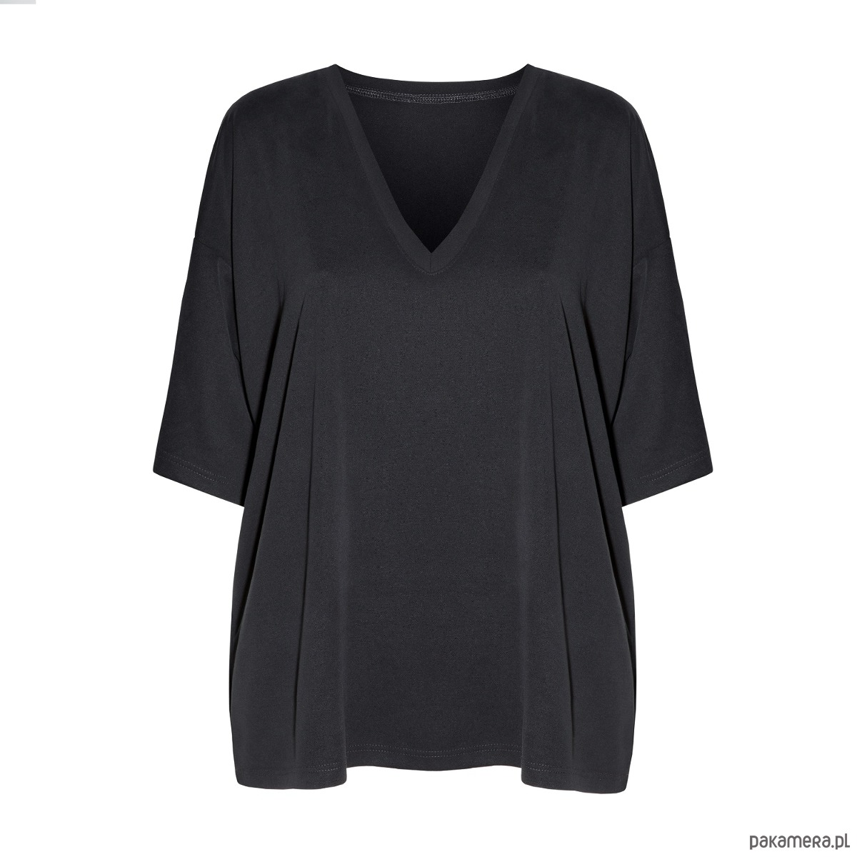 T-shirt oversize czarny