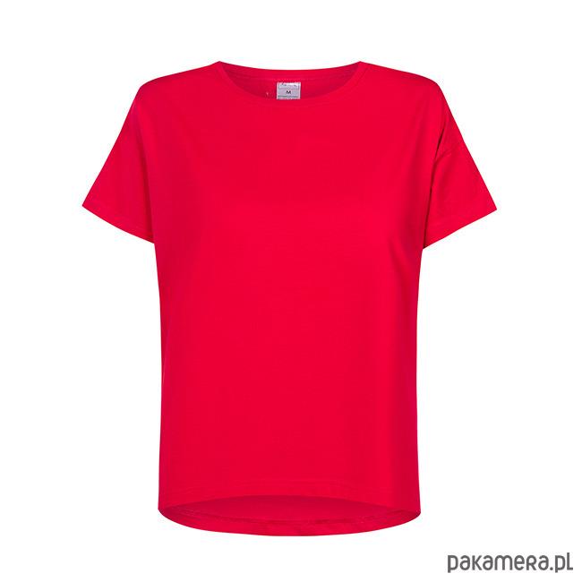 T-shirt basic CZERWONY