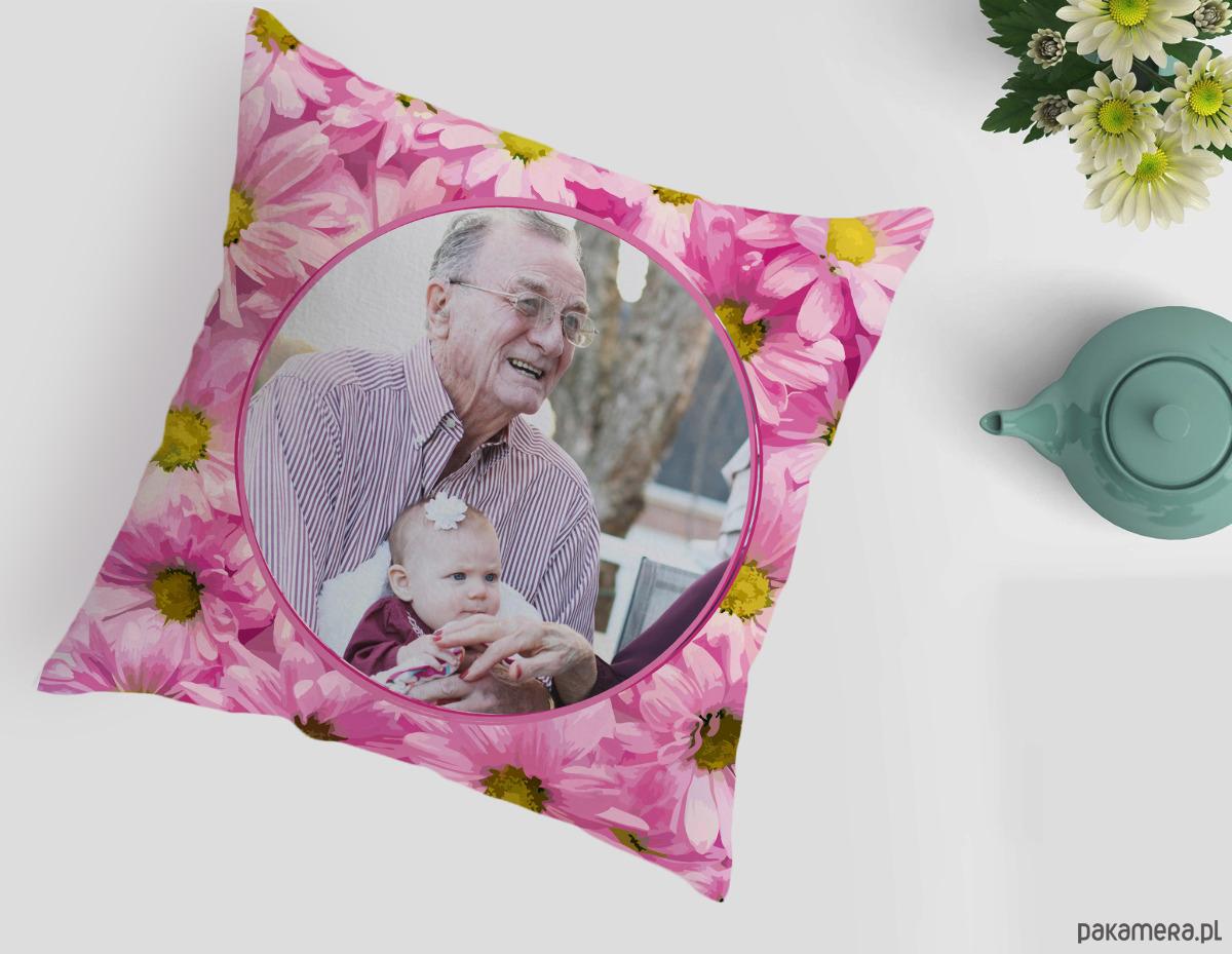 Poduszka Z Nadrukiem Dzień Babci I Dziadka Pakamerapl