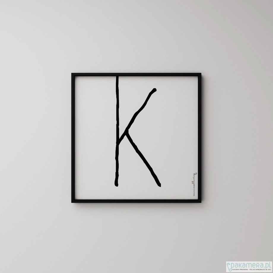 Litera K Plakaty Pakamerapl