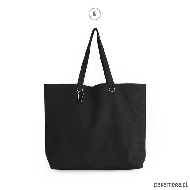 1329ecc05a313 XXL Druga Torba - czarna, na jogę lub siłownię - torby XXL - damskie ...