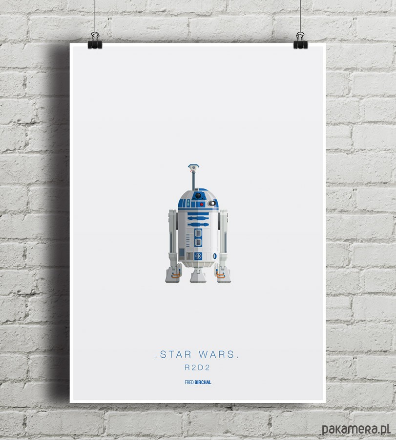Star Wars R2d2 Plakat Pakamerapl