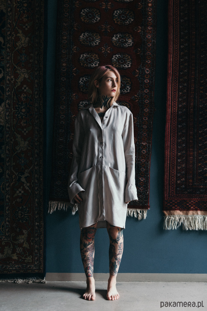 Sukienka koszulowa Khidi