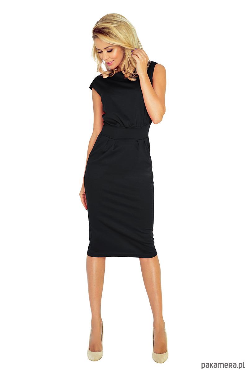 Klasyczna ołówkowa sukienka midi