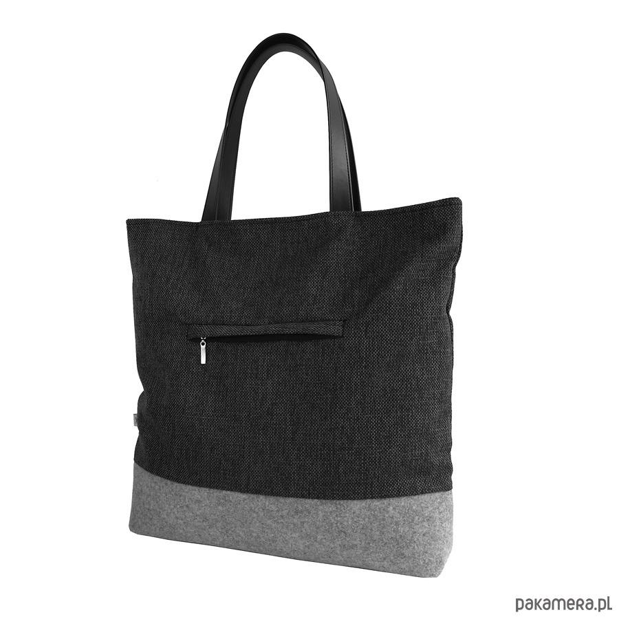 54af102c92827 SHOPPER BAG 02 pojemna torba na ramię - torby na ramię - damskie -  Pakamera.pl