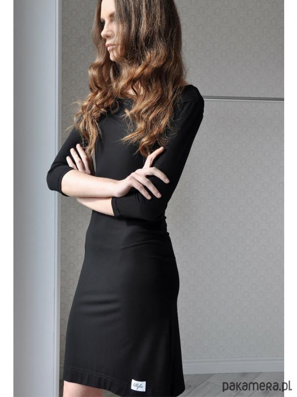 Sukienka czarna LL100007_RAL9005