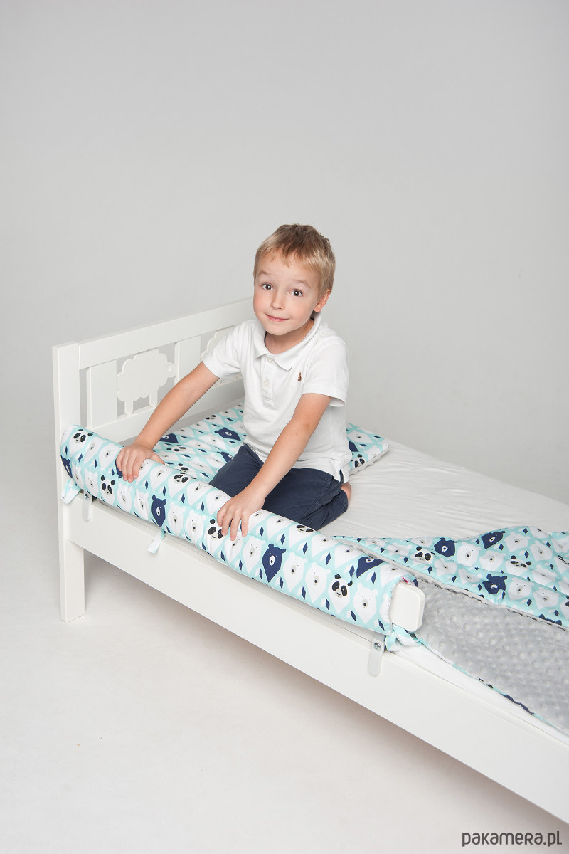 Ochraniacz Do łóżka Ikea Miętowe Misie Pakamerapl
