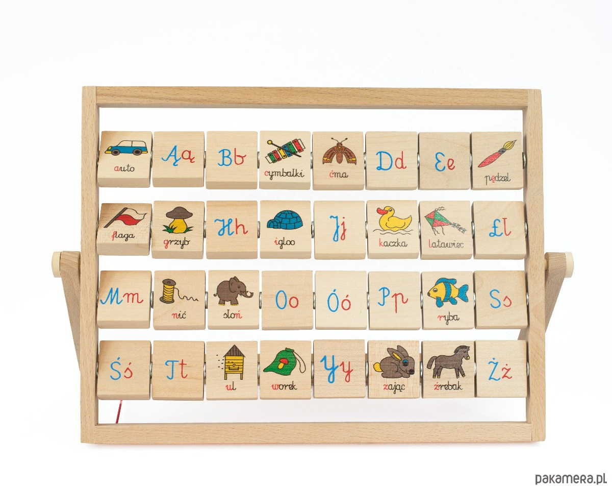 Alfabet Polski 32 Litery Zabawki Gry Edukacyjne Pakamerapl