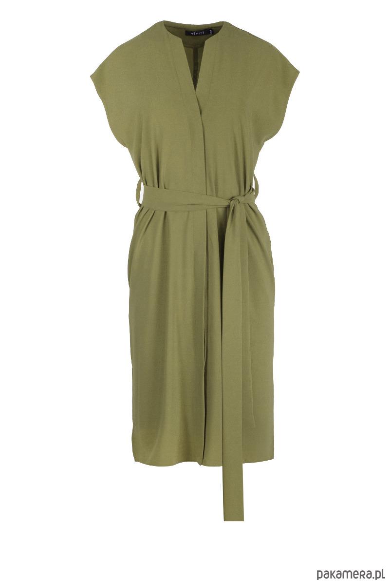 Sukienka LISA oliwkowa krótka