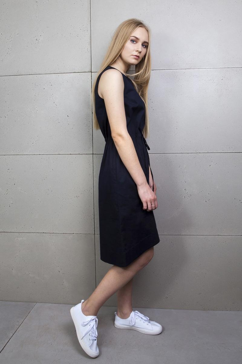 Sukienka letnia ze ściągaczem