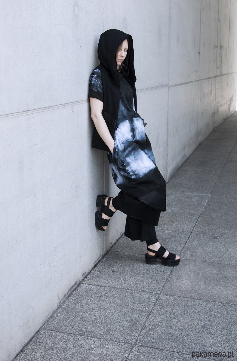 Sukienka SHIBORI