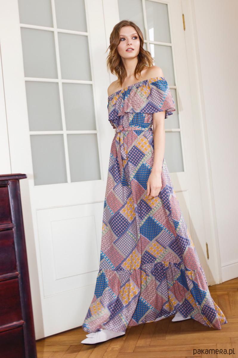 Sukienka Hippie Chic polanka