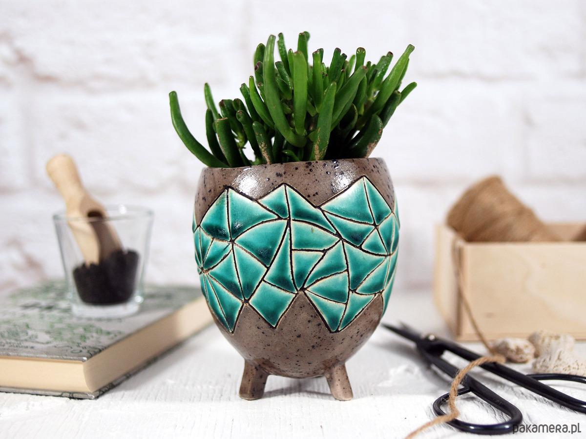 Ceramiczna Doniczka Osłonka Do Domu I Ogrodu Pakamerapl