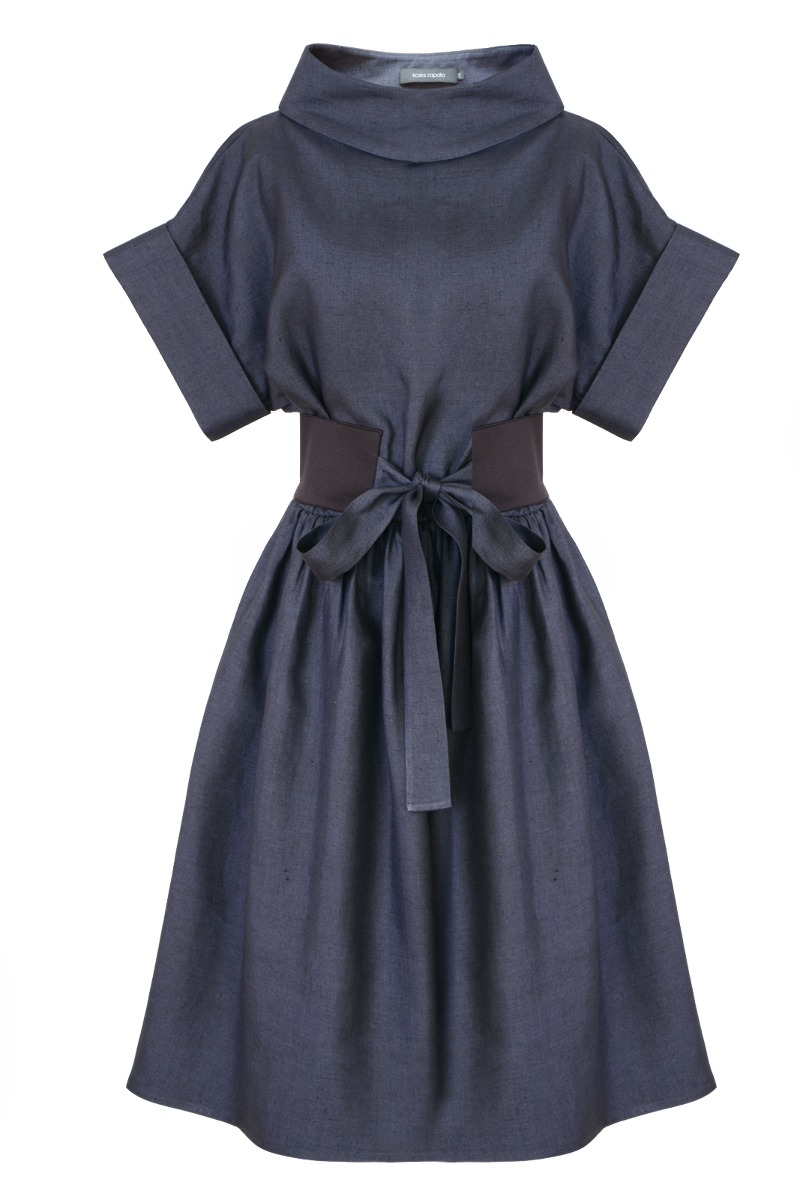 Sukienka Audrey len