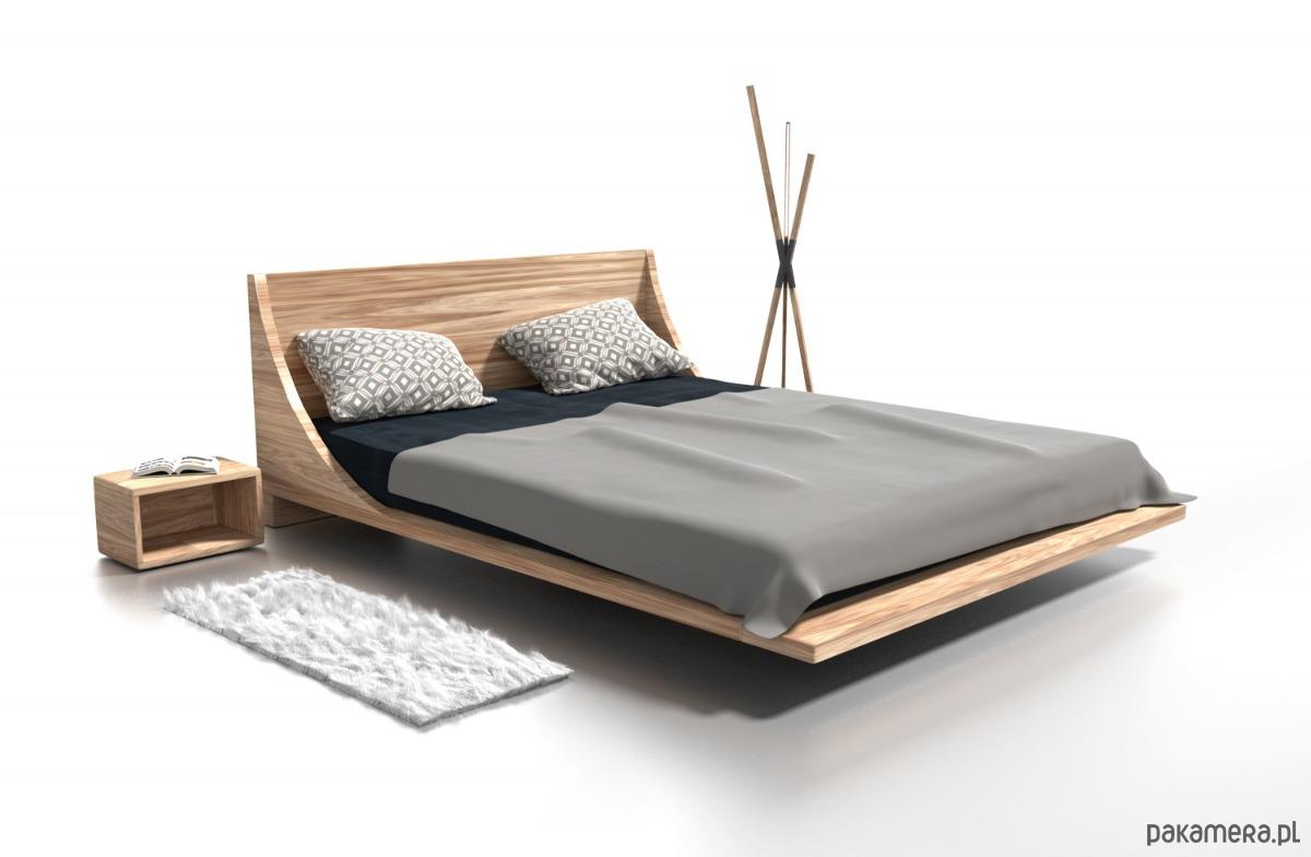 łóżko Drewniane Russ Pakamerapl