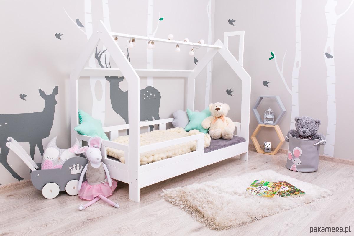 łóżko Domek Dla Dzieci Barierki Kolor Meble łóżka Pakamerapl