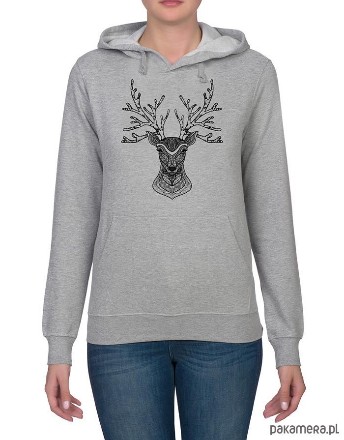 Bluza damska z jeleniem