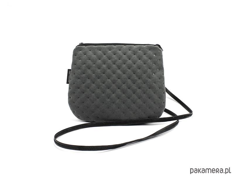 a8d19b643a843 Elegancka torebka mała szara - torebki mini - Pakamera.pl