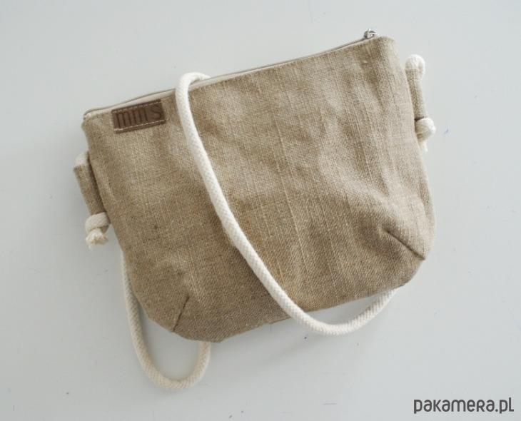 a0adb75bb4234 Mini vegan len sznurek - torby na ramię - damskie - Pakamera.pl