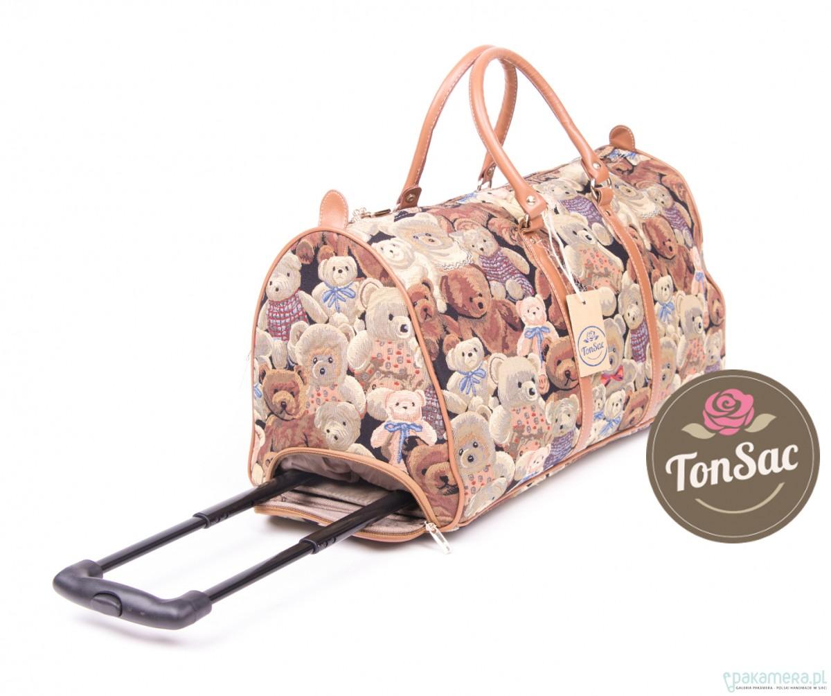 6f3f9306f75fd Torba podróżna na kółkach - Ton Sac 'Délice' - torby podróżne ...