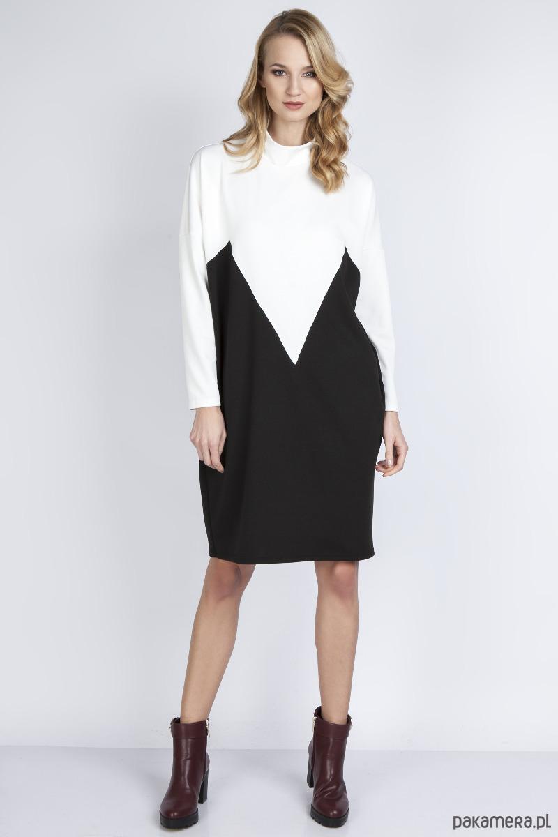 Sukienka, SUK134 ecru