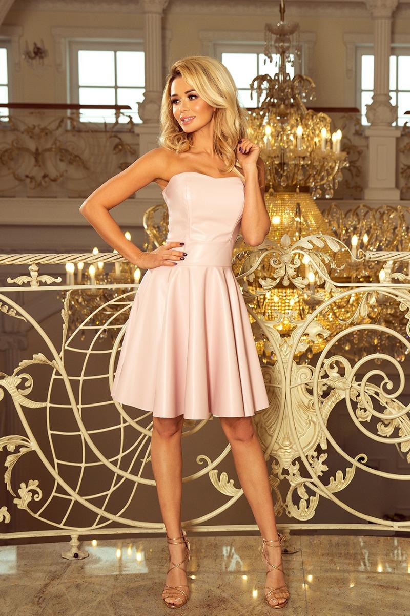 Sukienka GORSET pudrowy róż