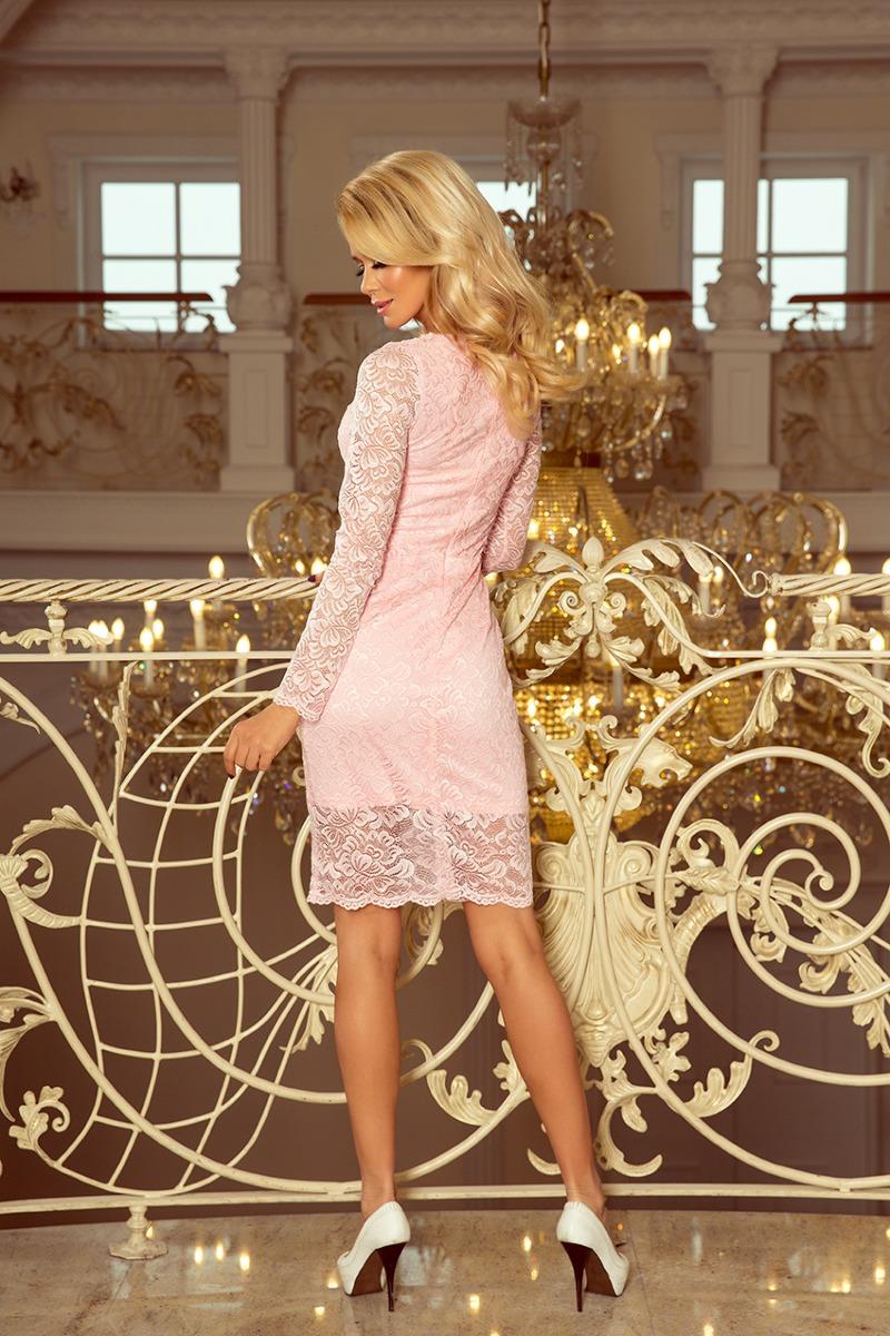 Sukienka CIRRY PUDROWA koktajlowa