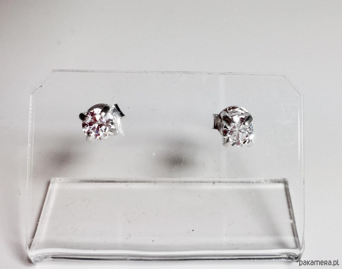 bfbb0eaf1d3b3b Małe kolczyki z cyrkoniami - Biżuteria - kolczyki - swarovski ...