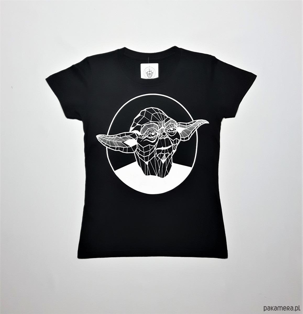 czarna koszulka damska Mistrz