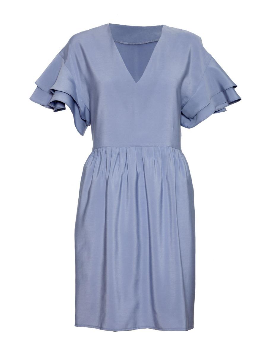 Sukienka CLARA niebieska